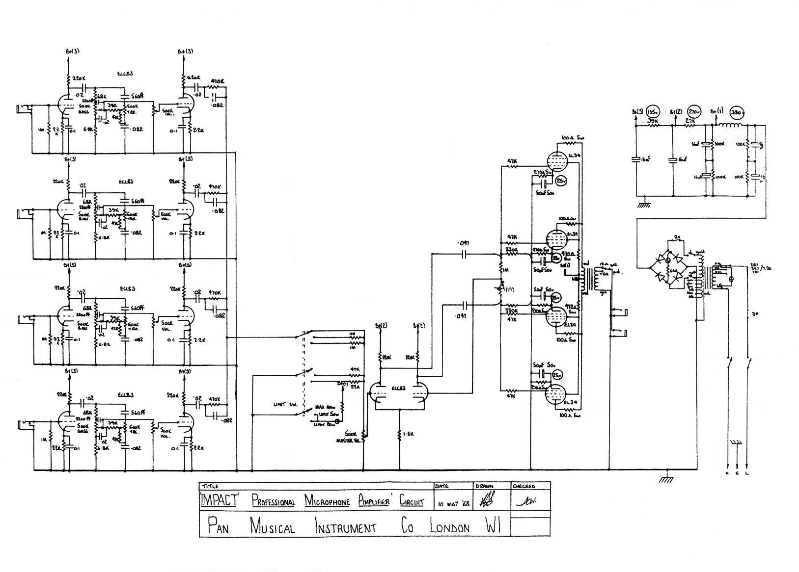 Schematic For Orange Micro Terror on